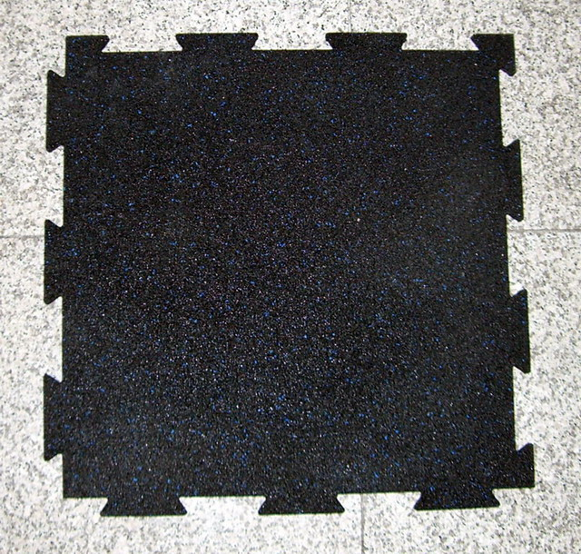 EMEI Rubber Tile Rubber Paver Rubber Flooring Interlocking Rubber
